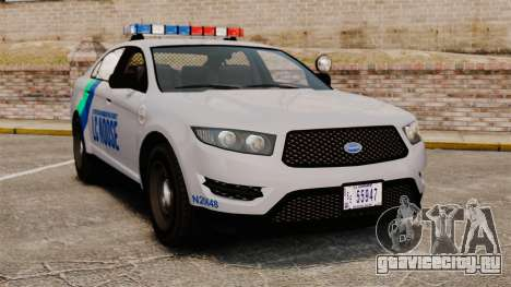 GTA V Vapid Police Stanier Interceptor [ELS] для GTA 4