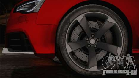 Audi RS5 2012 для GTA San Andreas вид слева