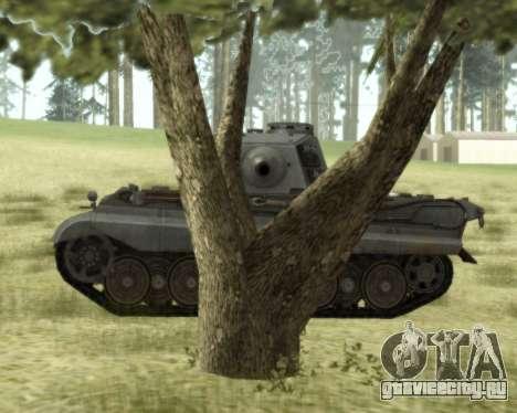 PzKpfw VIB Tiger II для GTA San Andreas вид сзади слева