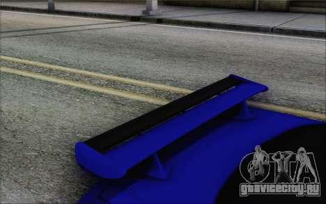 Nissan Skyline GT-R34 для GTA San Andreas вид справа