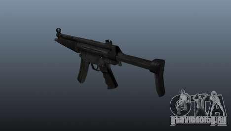 Пистолет-пулемёт HK MP5 A3 для GTA 4 второй скриншот
