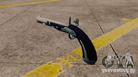Кремневый пистолет для GTA 4 второй скриншот