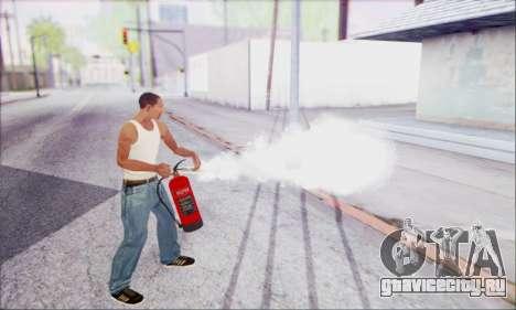 Новый огнетушитель 2 для GTA San Andreas третий скриншот