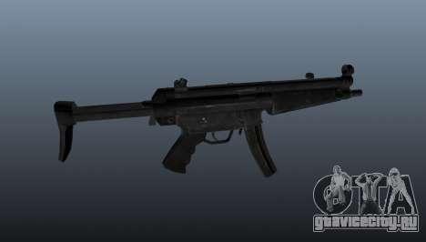 Пистолет-пулемёт HK MP5 A3 для GTA 4 третий скриншот