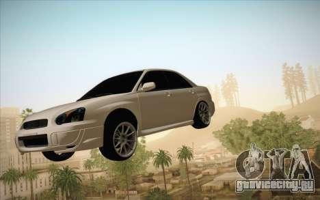 Заморозить машину в воздухе для GTA San Andreas второй скриншот