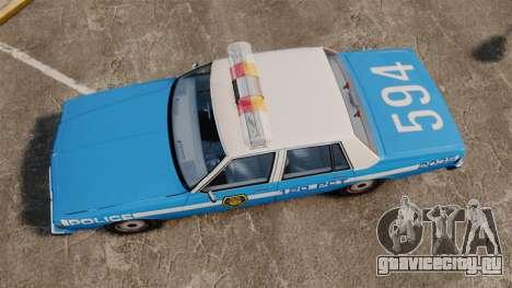 Chevrolet Caprice 1987 LCPD для GTA 4 вид справа