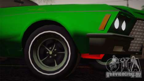 Buick Riviera 1972 Carbine Version для GTA San Andreas вид сзади