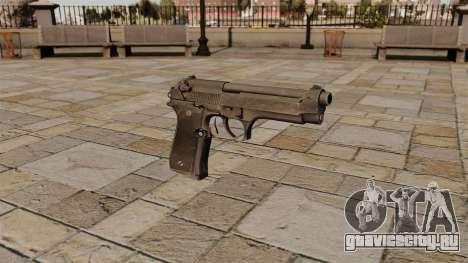Самозарядный пистолет Beretta для GTA 4