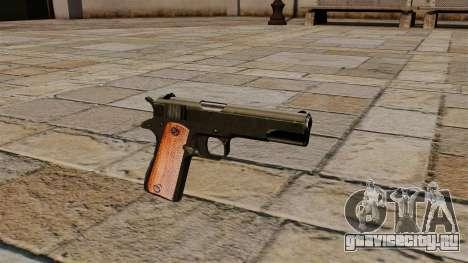 Пистолет Colt M1911 Black Edition для GTA 4