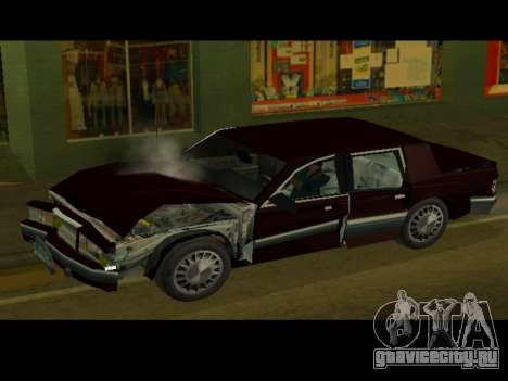 Willard HD (Dodge dynasty) для GTA San Andreas вид справа