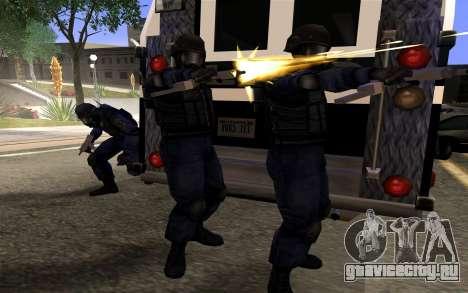 SWAT из Manhunt 2 для GTA San Andreas третий скриншот
