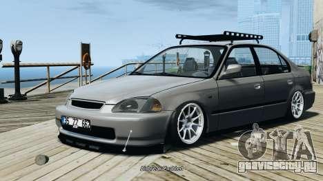Honda Civic 1.6i ES для GTA 4