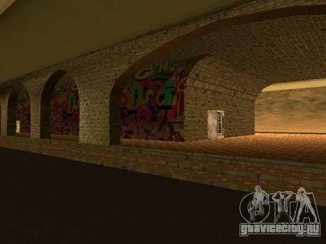 ЖД вокзал Las Venturas v1.0 для GTA San Andreas второй скриншот