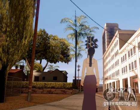 Indo-Japan High School Girl Uniform для GTA San Andreas третий скриншот