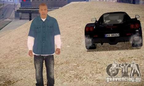 Franklin для GTA San Andreas второй скриншот