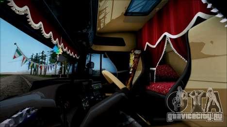Scania P400 для GTA San Andreas вид сзади слева