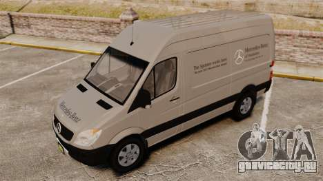 Mercedes-Benz Sprinter 2500 2011 v1.4 для GTA 4 колёса