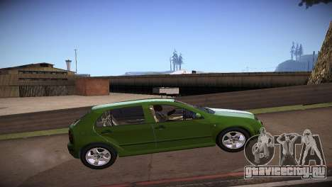 Skoda Fabia для GTA San Andreas вид слева