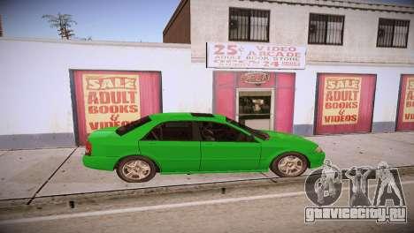 Mazda Protege для GTA San Andreas вид сзади слева