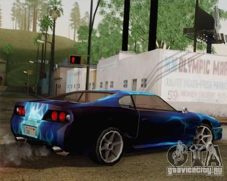 Покрасочная работа для Jester для GTA San Andreas вид слева