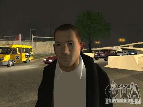 Chester Bennington для GTA San Andreas третий скриншот