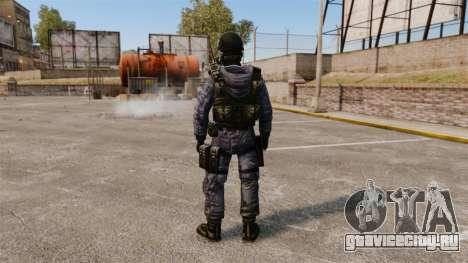 Английский спецназовец SAS для GTA 4 третий скриншот