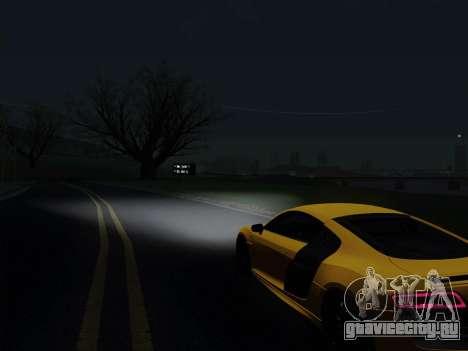 Audi R8 V10 Plus для GTA San Andreas вид справа