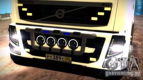 Volvo FH16 для GTA San Andreas вид сзади