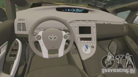 Toyota Prius 2011 Adelaide Taxi для GTA 4 вид сбоку