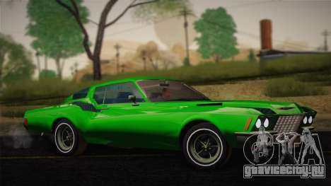 Buick Riviera 1972 Carbine Version для GTA San Andreas вид справа