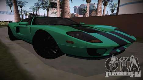 Ford GT TT Ultimate Edition для GTA San Andreas вид сзади слева