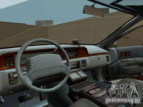 Chevrolet Caprice LAPD 1991 для GTA San Andreas вид справа