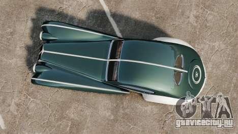 GTA V Z-Type для GTA 4 вид справа