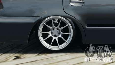 Honda Civic 1.6i ES для GTA 4 вид сбоку