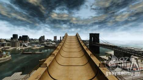 Мега трамплин для GTA 4 четвёртый скриншот