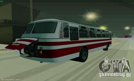 ЛАЗ 699Р для GTA San Andreas вид сзади слева