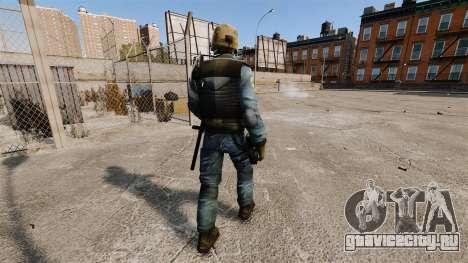 Немецкий спецназовец GSG-9 для GTA 4 третий скриншот