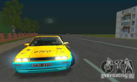 Opel Manta Mattig Extreme для GTA San Andreas вид изнутри