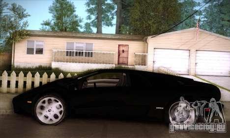 Lamborghini Diablo VT6.0 для GTA San Andreas вид снизу