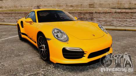 Porsche 911 Turbo 2014 [EPM] Turbo Side Stripes для GTA 4
