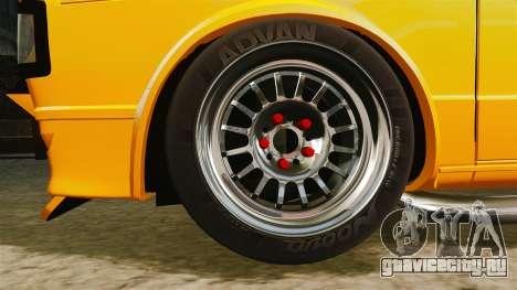 Volkswagen Caddy для GTA 4 вид сзади