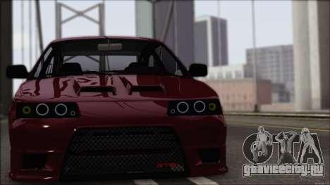 ВАЗ 2112 Купе-Спорт для GTA San Andreas вид слева