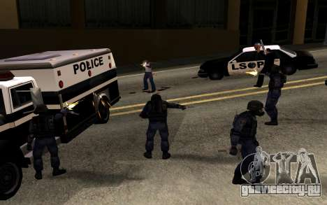 SWAT из Manhunt 2 для GTA San Andreas второй скриншот