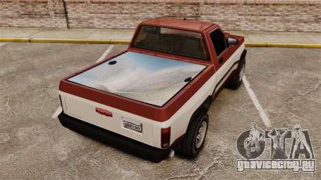 Declasse Rancher 1998 v2.0 для GTA 4 вид сзади слева