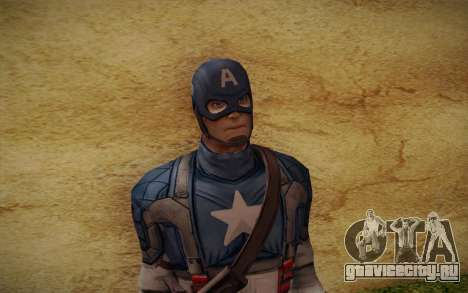 Captain America: First Avenger для GTA San Andreas третий скриншот