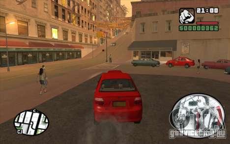 Speedometr da Rockstar для GTA San Andreas третий скриншот