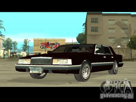 Willard HD (Dodge dynasty) для GTA San Andreas вид слева