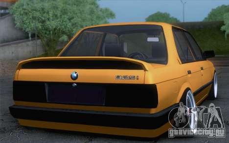 BMW E30 325i для GTA San Andreas вид слева