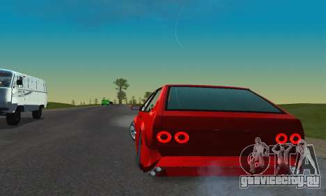 ВАЗ 2108 Aarr Style для GTA San Andreas вид изнутри