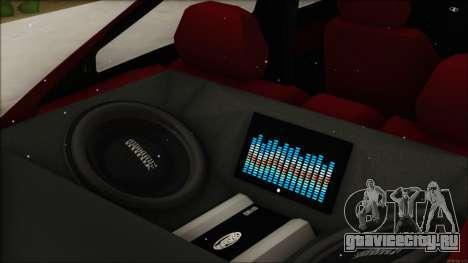 ВАЗ 2112 Купе-Спорт для GTA San Andreas вид справа